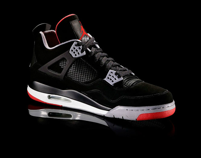 Air Jordan IV (4) 'Black/Cement' at Caliroots SFD