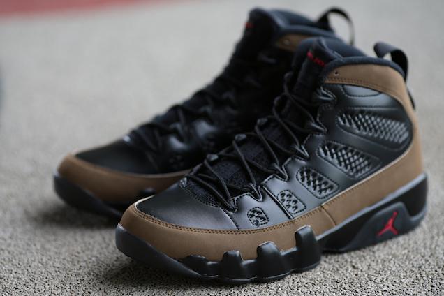 Air Jordan IX (9) 'Olive' – New Images