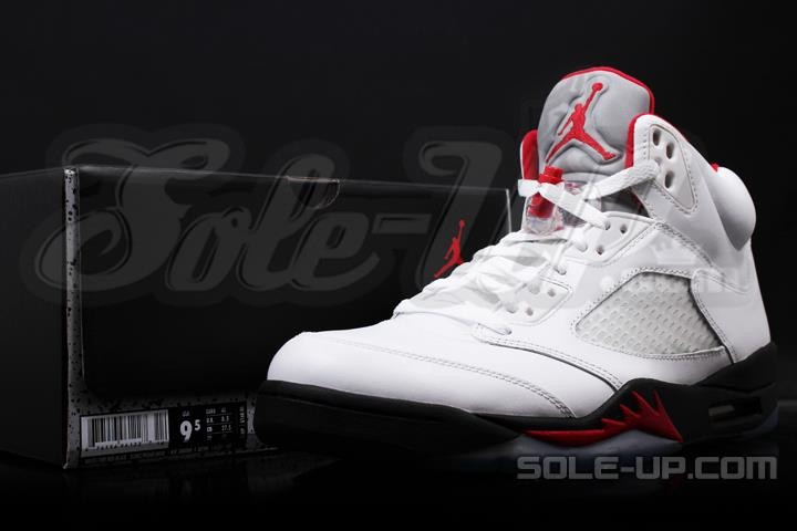 Air Jordan V (5) 'Fire Red' 2013 Retro and OG Packaging