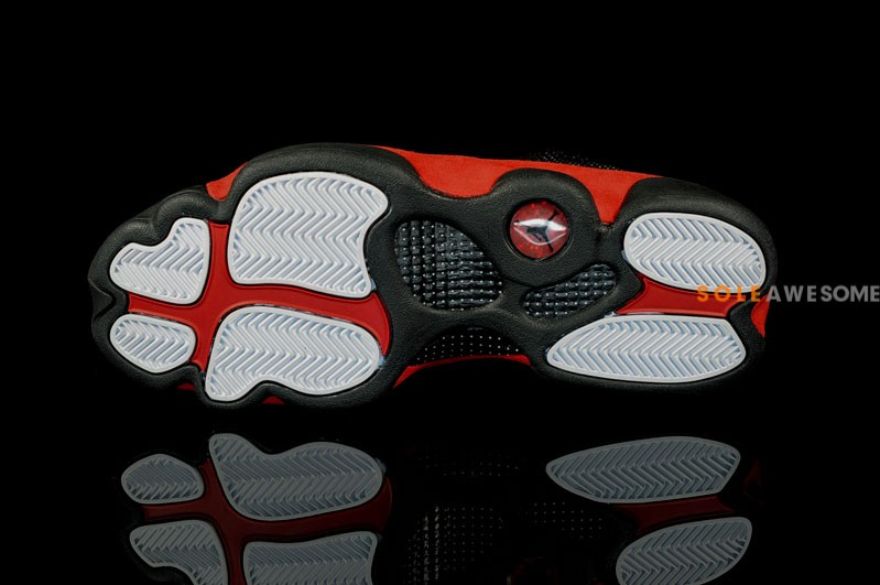 Air Jordan XIII (13) 'Black/Varsity Red-White' 2013 Retro