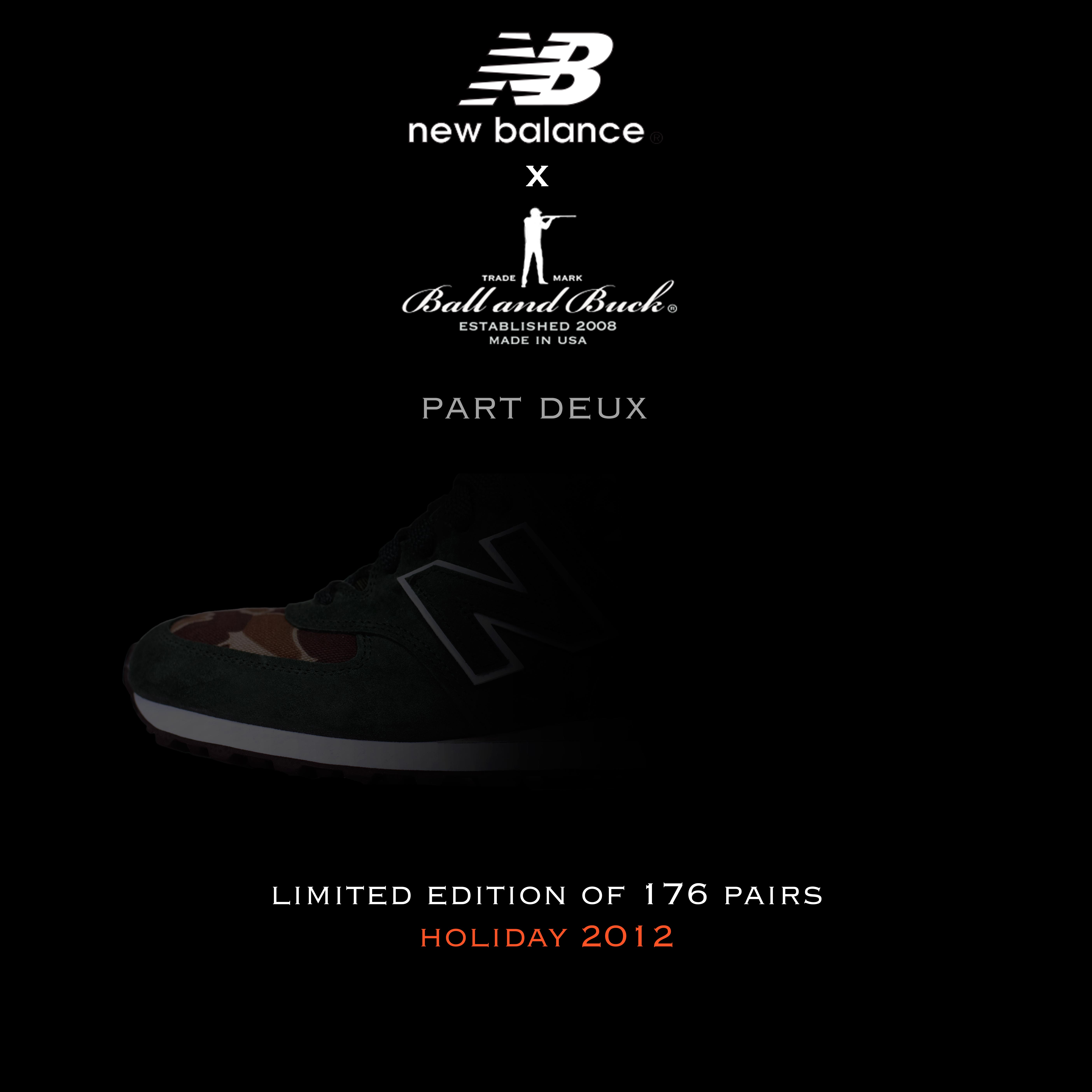 Ball and Buck x New Balance Teaser