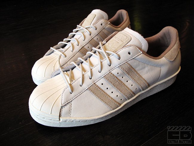 Beauty & Youth x adidas Originals Superstar 80s at Extra Butter