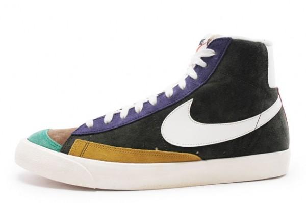 Release Reminder: Nike Blazer Mid Premium '77 VNTG NRG 'Sequoia/Sail-Night Blue'