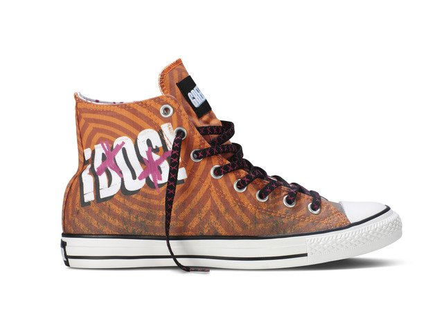 Converse Unveils Second Shoe In Chuck Taylor All Star Collection Inspired By Green Day