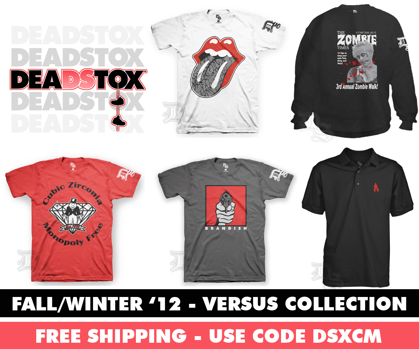 DeadStox Fall/Winter 2012 'Versus' Collection