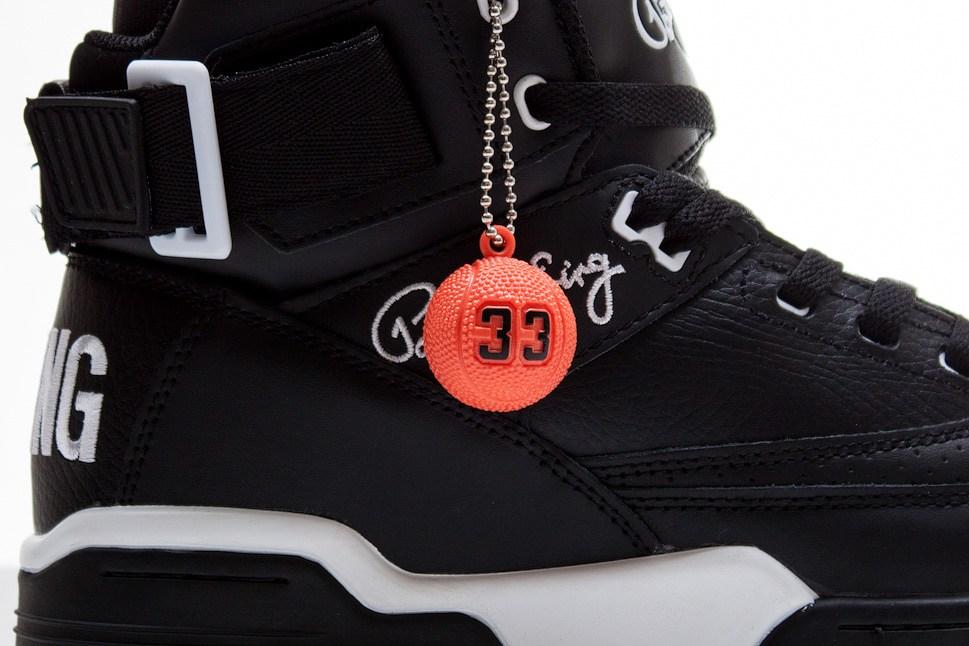 Ewing 33 Hi 'Black Leather' at Sneakersnstuff