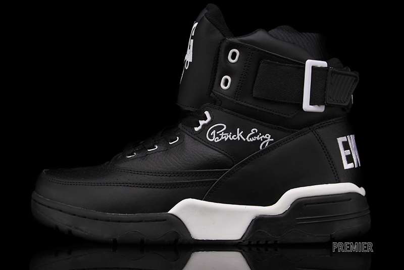 Ewing 33 Hi 'Blue Suede' and 'Black Leather' at Premier