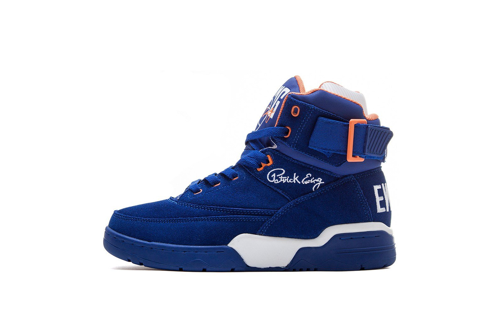 Ewing 33 Hi 'Blue Suede' at Sneakersnstuff