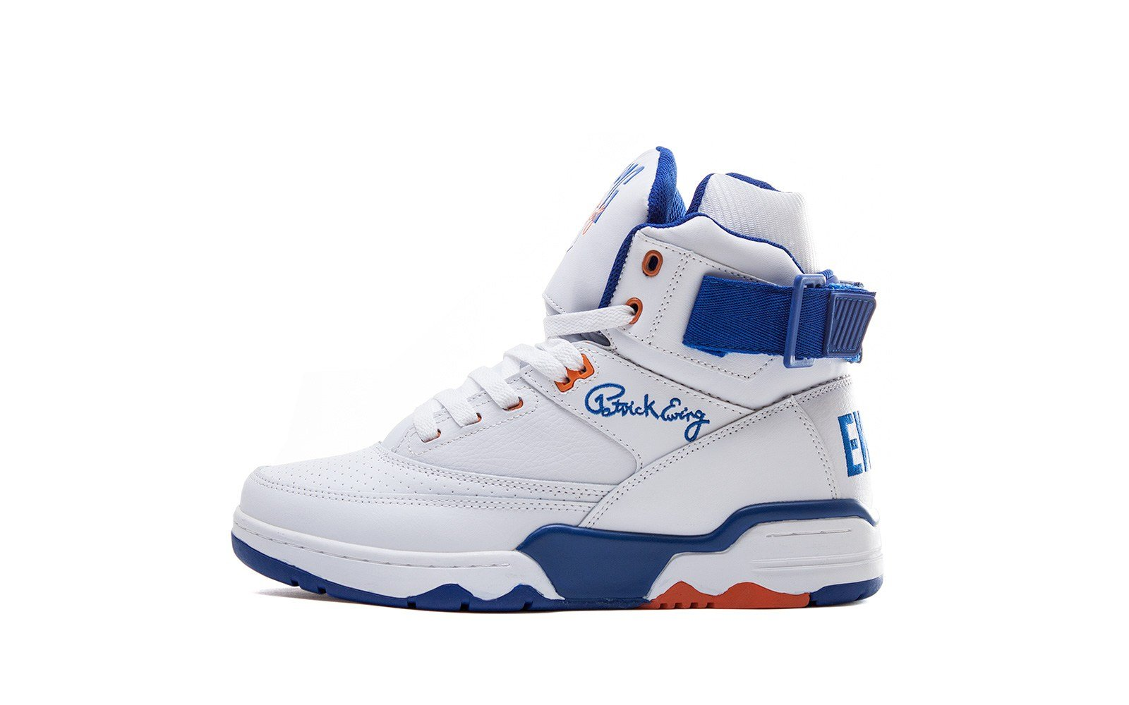 Ewing 33 Hi 'White Leather' at Sneakersnstuff