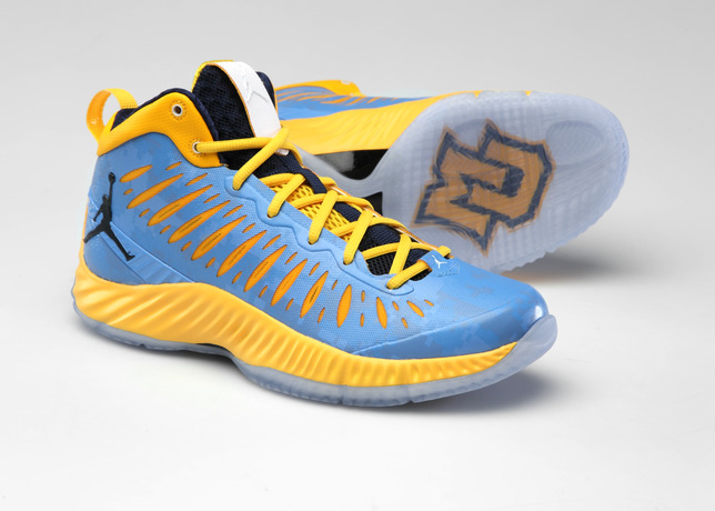 Georgetown, Marquette Men's Basketball to Unveil Camo Versions of Jordan Super.Fly