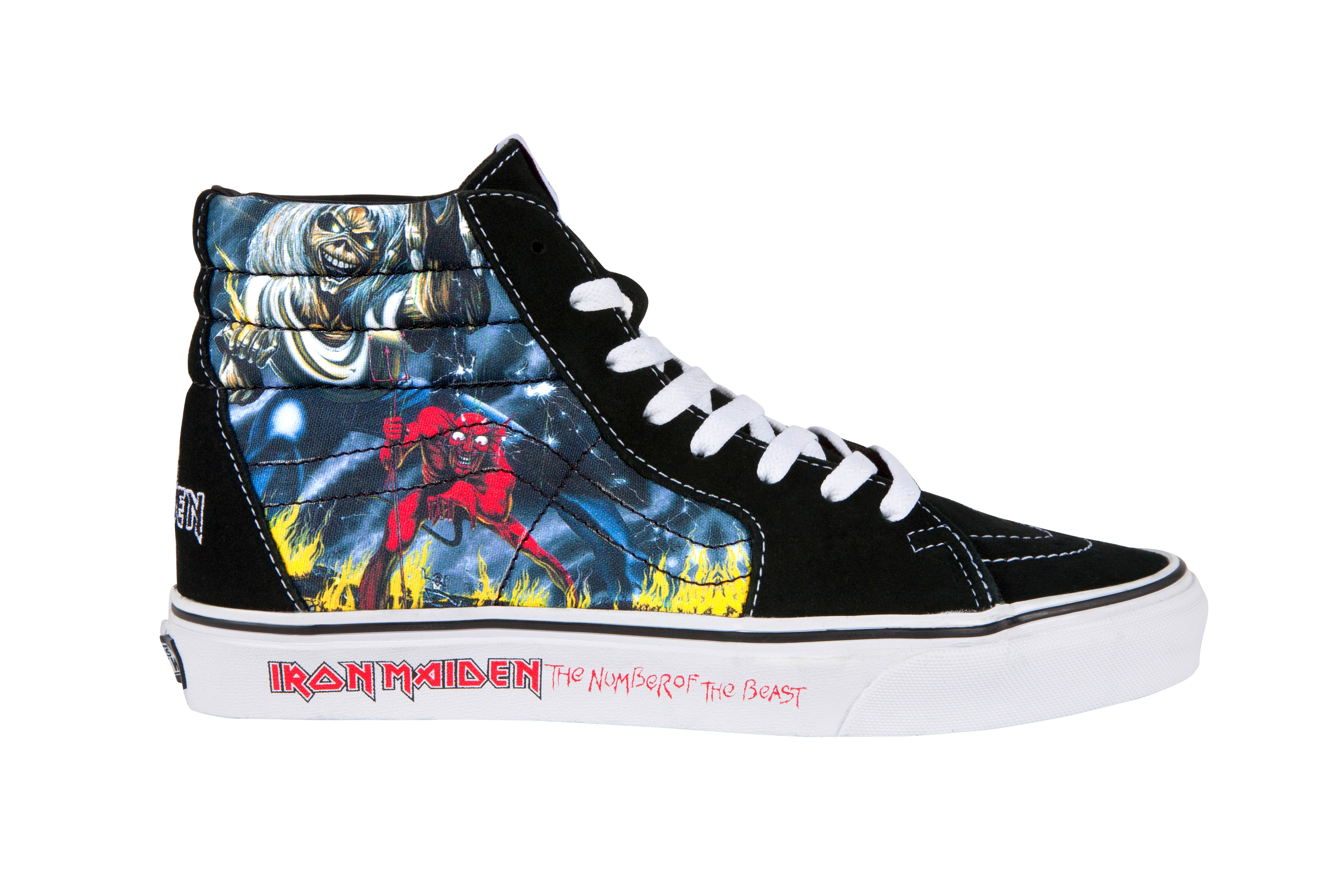 03b0054ba103ac Iron Maiden x Vans  The Number of the Beast  Collection