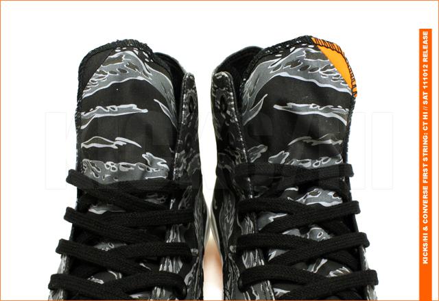 First Chuck Premium Kickshi X 'tiger Converse Camo Taylor String Hi PTiXOkZu