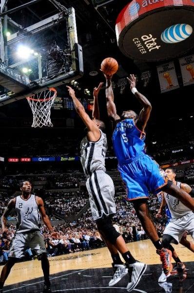 Kendrick Perkins Sports Black 'Away' Nike KD V (5) PE