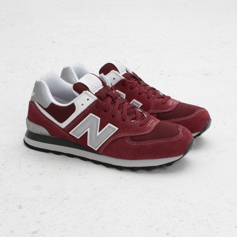 new balance womens maroon