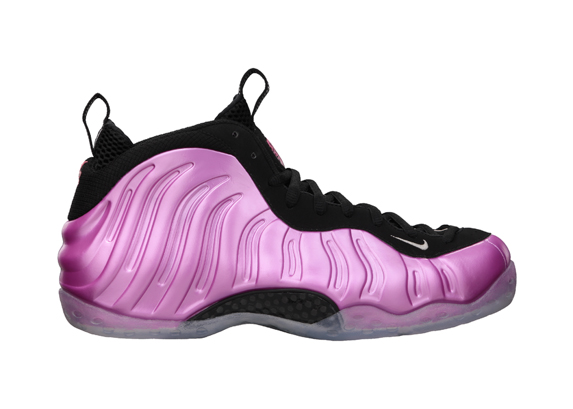 Nike Air Foamposite One 'Pearlized Pink' - Official Images