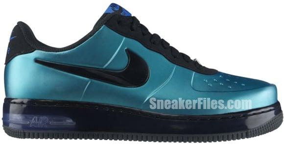 Nike Air Force 1 Foamposite Pro Low New Green/Black - Last Look