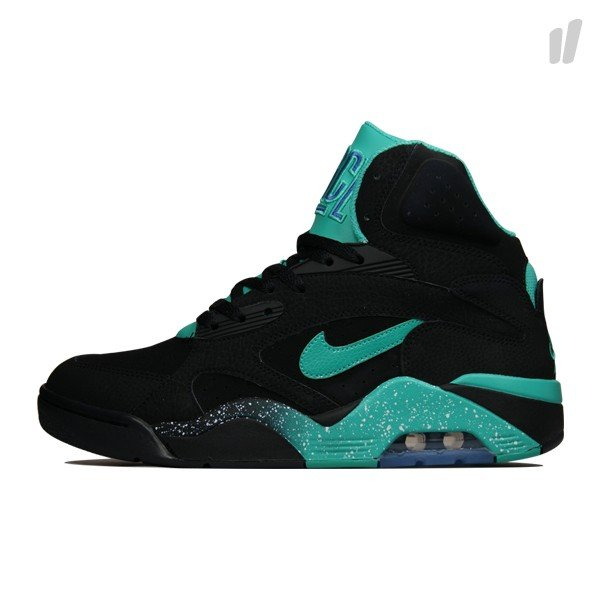 Nike Air Force 180 High 'Black/Atomic Teal-Violet'