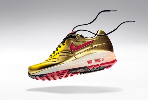 Nike Air Max 1 'Metallic Gold/Infrared' - Spring 2013