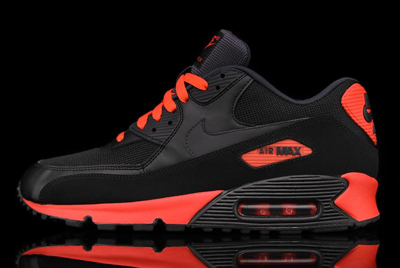 Nike Air Max 90 'Black/Anthracite-Sunburst'