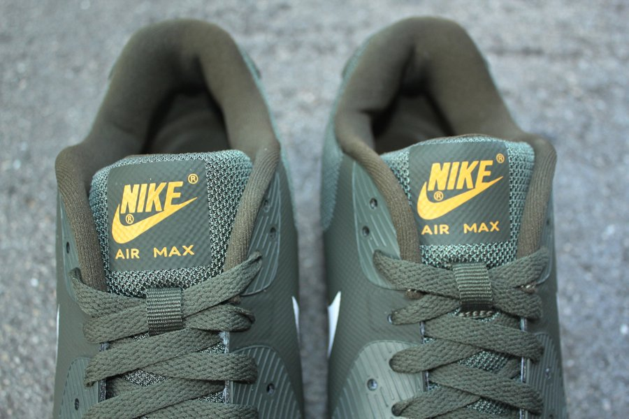 Nike Air Max 90 PRM 'Cargo Khaki/White-Steel Green-Canyon Gold'