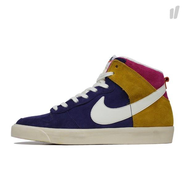 Nike Dunk High AC NRG 'Night Blue/Sail-Dark Gold Leaf' at Overkill