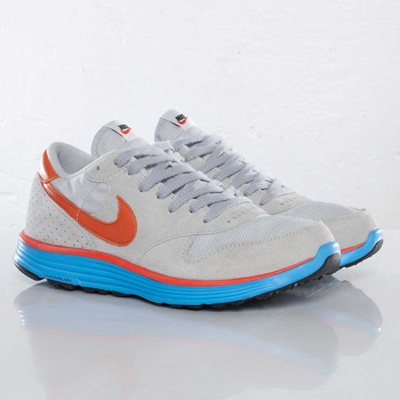 Nike Epic VNTG Lunar NRG 'Wolf Grey/Deep Orange-Neutral Grey' at SNS
