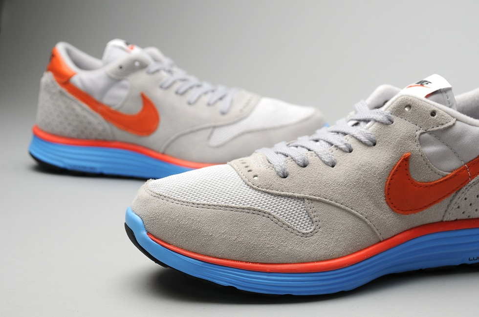 Nike Epic VNTG Lunar NRG 'Wolf Grey/Deep Orange-Neutral Grey' at size?