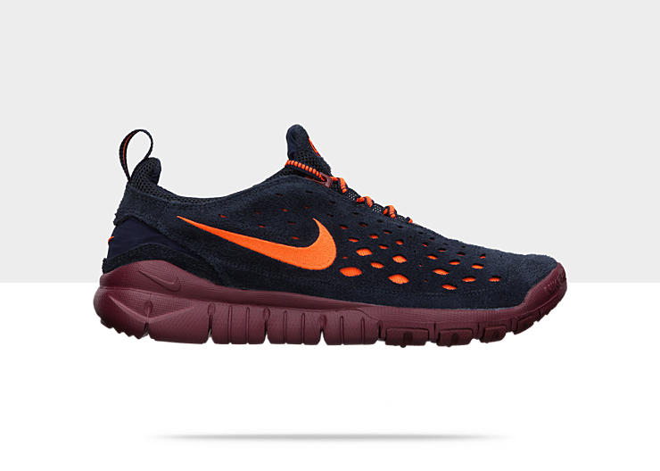 Nike Free Trail 'Dark Obsidian/Midnight Navy-Team Red-Total Orange'