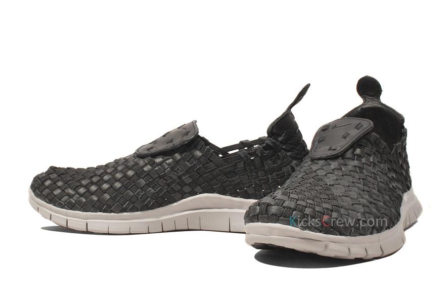 Nike Free Woven NRG 'Black/Black-Wolf Grey'
