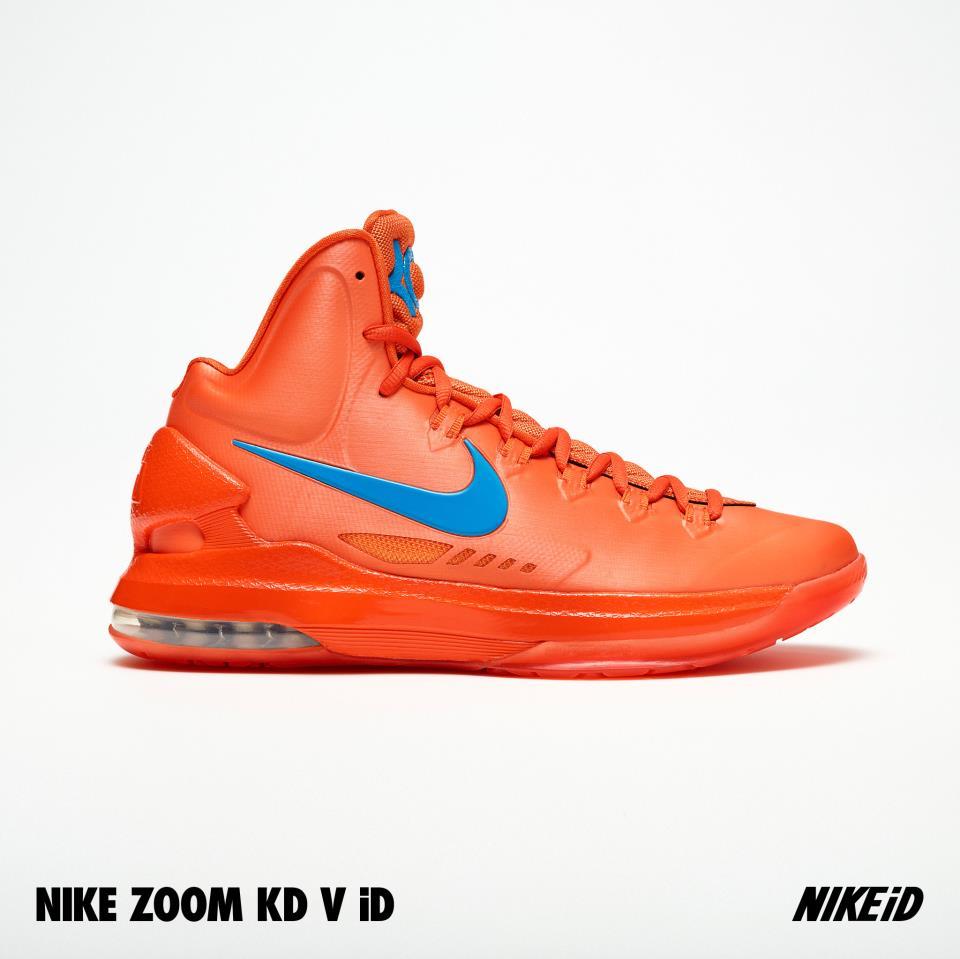 Nike KD V (5) iD 'Glow-In-The-Dark' Samples