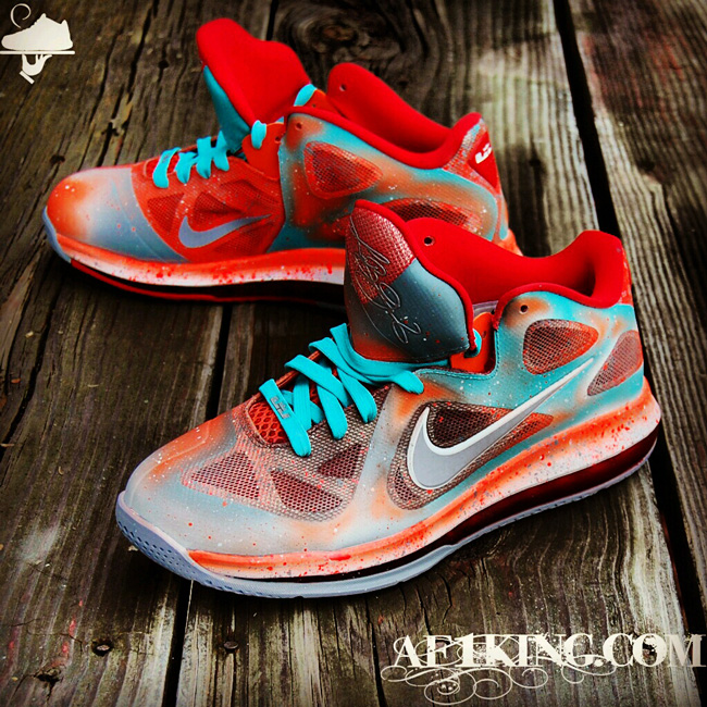 Nike LeBron 9 Low 'Remember The Night' by GourmetKickz