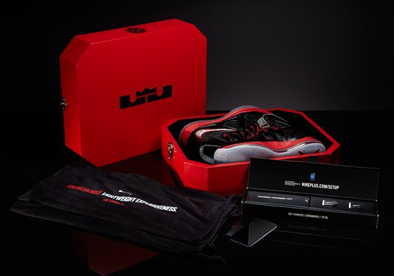 Nike LeBron X (10)+ Sport Pack 'Pressure' - Limited Edition Package