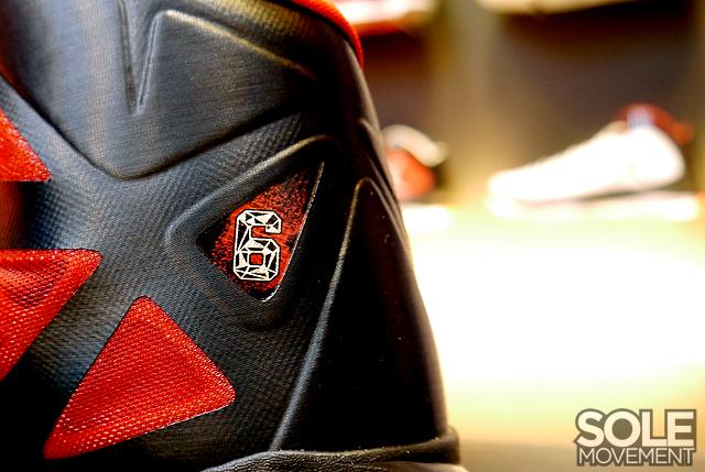 Nike LeBron X (10) 'Black/University Red' - New Images
