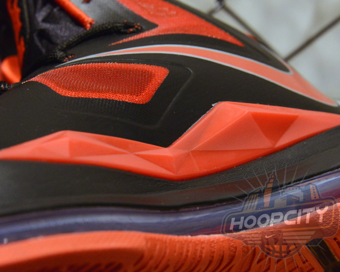Nike LeBron X (10) 'Black/University Red-Metallic Silver' – New Images