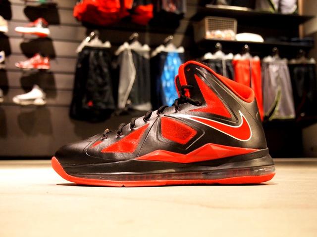 Nike LeBron X (10) 'Black/University Red-Metallic Silver' - New Images