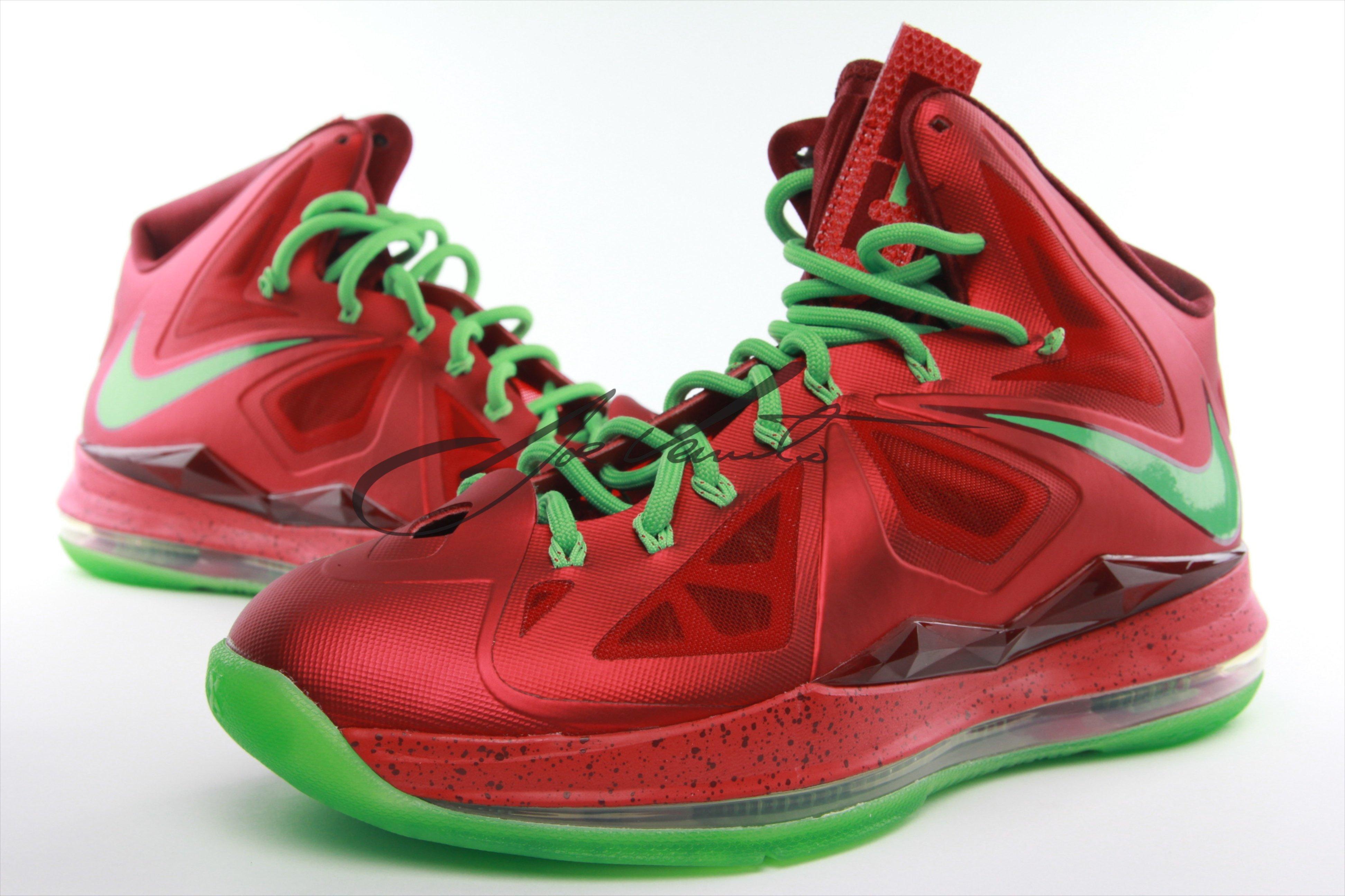 Nike LeBron X (10) 'Christmas' – New