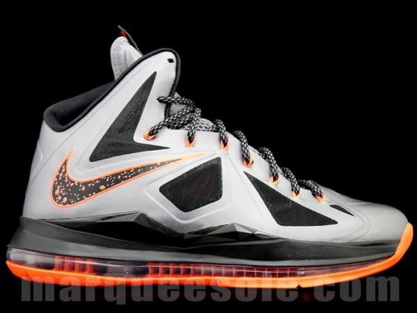 Nike LeBron X (10) 'Charcoal/Total Orange-Black' - Release Date + Info