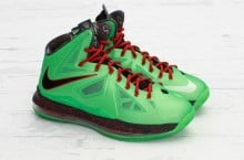 Nike LeBron X (10) 'Cutting Jade' at Concepts