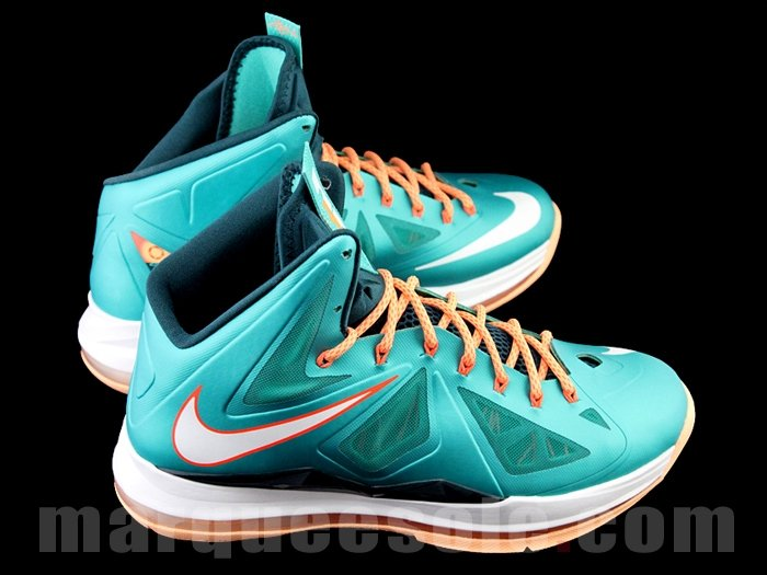 Nike LeBron X (10) 'Miami Dolphins' - Release Date + Info
