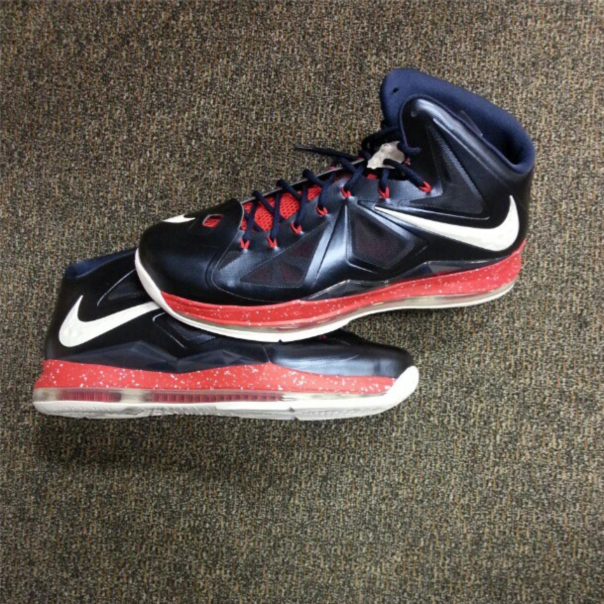 Nike LeBron X (10) 'Veterans Day' PE