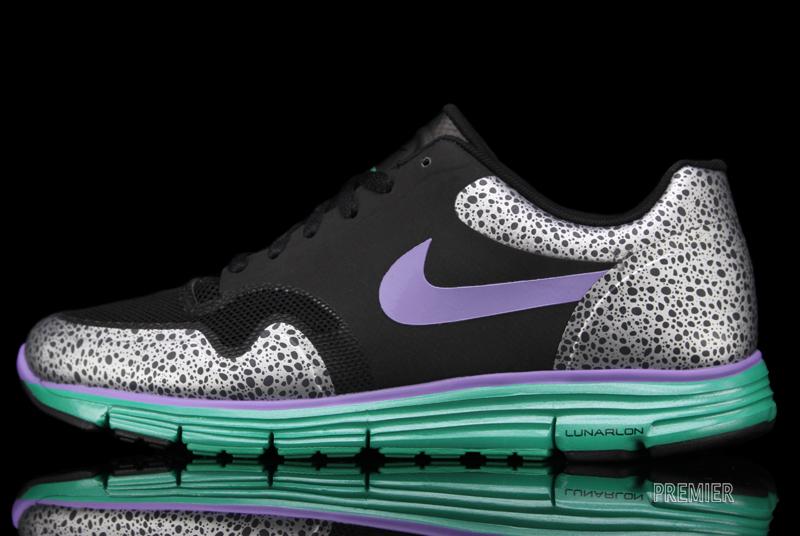 Nike Lunar Safari Fuse+ 'Violet/Stadium Green'