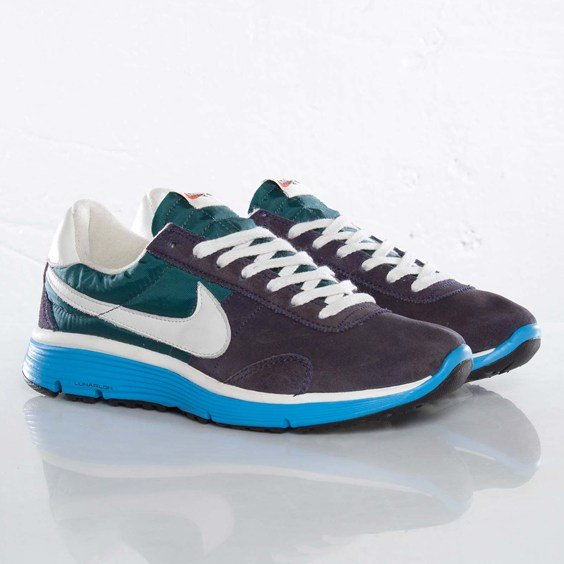 Nike Pre Montreal VNTG Lunar NRG 'Imperial Purple/Sail-Dark Atomic Teal' at SNS