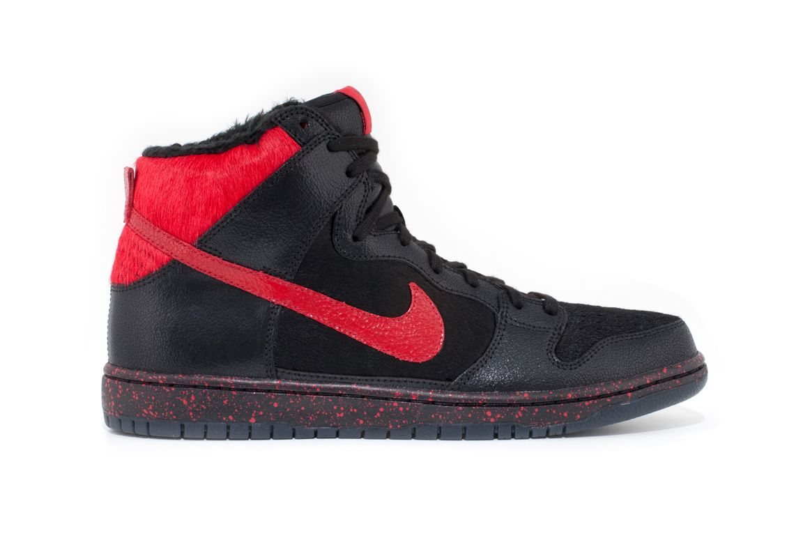 Sean Cliver x Nike SB Dunk High 'Krampus' - Officially Unveiled