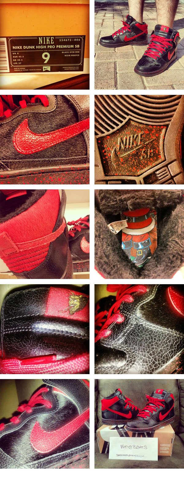 Nike SB Dunk High 'Krampus' for Christmas 2012