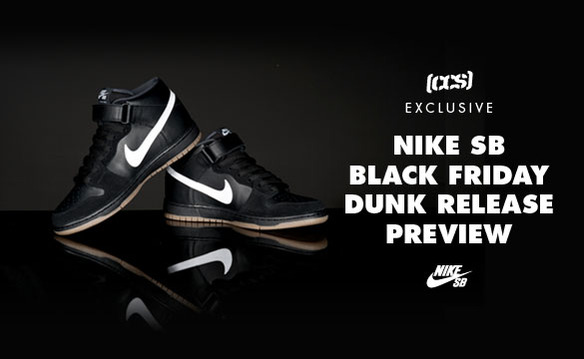Nike SB Dunk Mid 'Black Friday' CCS Exclusive | SneakerFiles