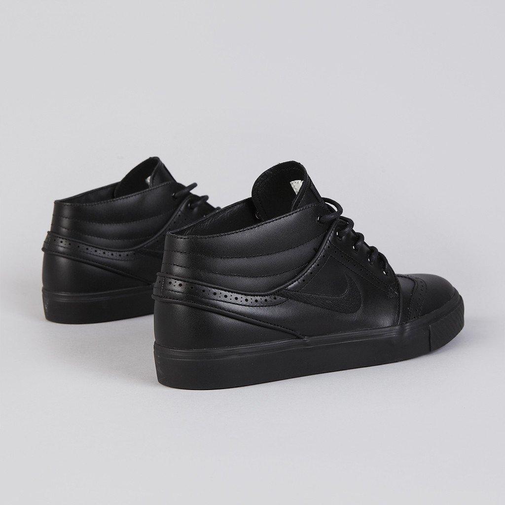 Nike SB Stefan Janoski Mid Premium 'Black Brogue' at Flatspot