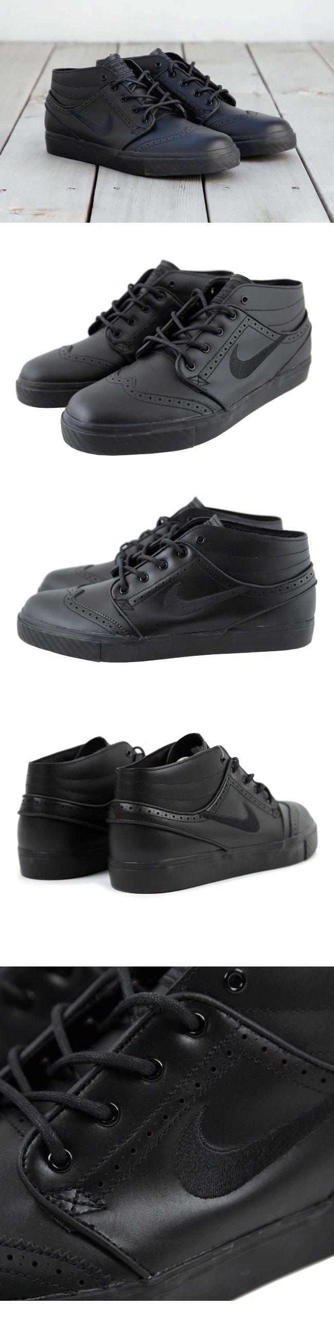 Nike SB Stefan Janoski Mid Premium 'Black Brogue'