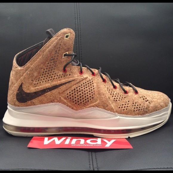 Nike Sportswear LeBron X (10) 'Cork' - New Images