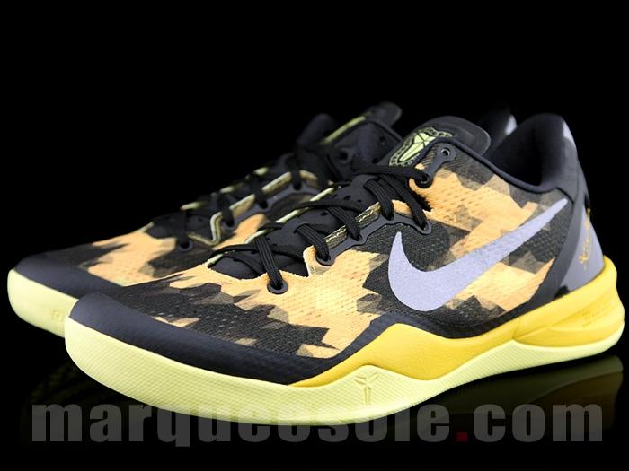 Nike Kobe VIII (8) 'Black/Yellow' – New Images