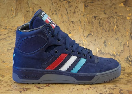 Packer Shoes x adidas Originals Conductor Hi 'New Jersey Americans' - Now Available